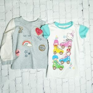 Girls Shirts 5T Hello Kitty/Carters